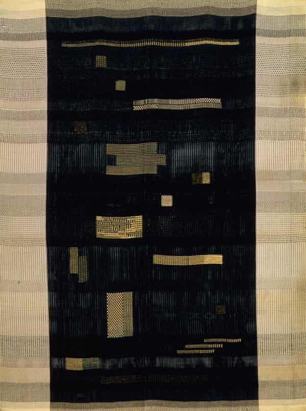Ancient Writing, 1936, cotton and rayon