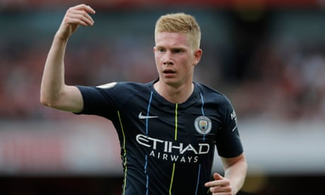 Manchester City hopeful Kevin De Bruyne could return in two months