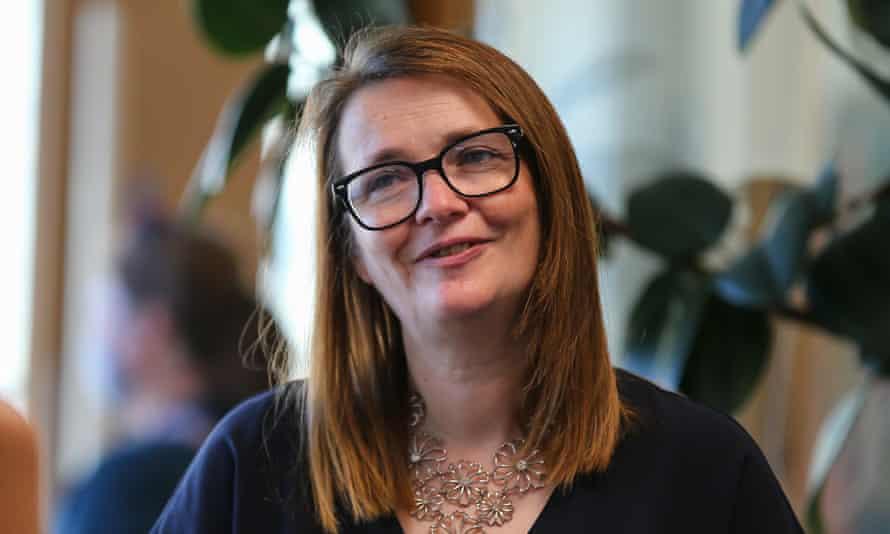Kirsty Williams, Welsh education secretary: virus is putting health service under pressure.