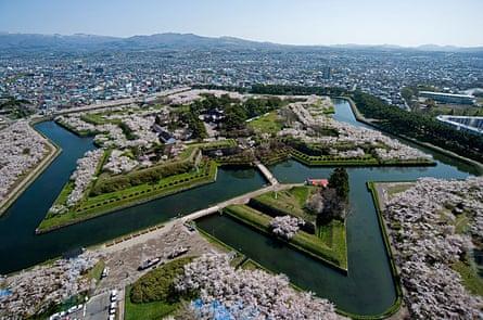 Goryokaku Park, Hakodate.