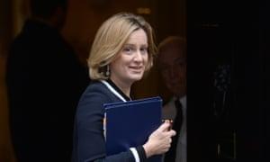 Home secretary, Amber Rudd … announced a timetable for registration.
