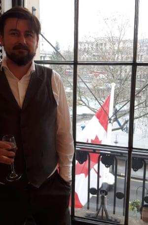 Ben Allanach in Canada House
