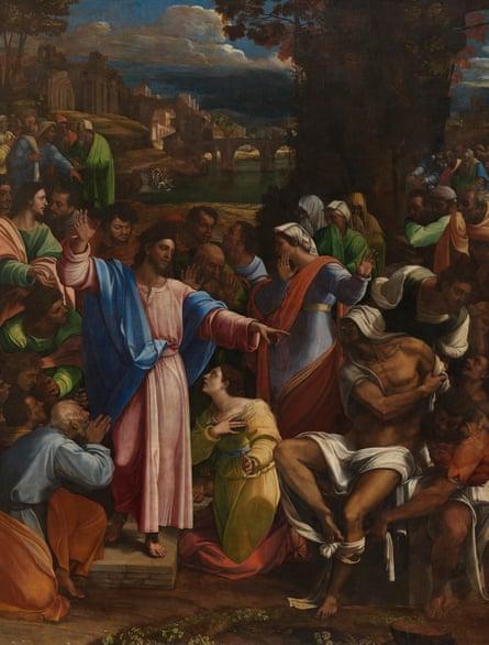 A massive bore? The Raising of Lazarus.