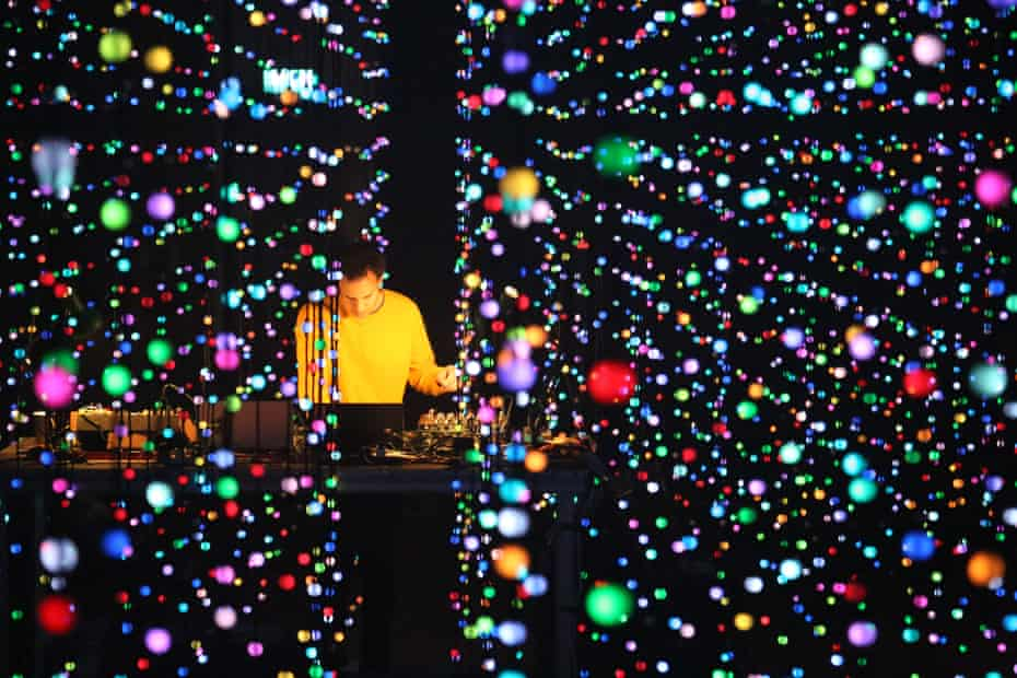 'A big psychedelic hippy with a borderline new-age bent': Kieran Hebden, aka Four Tet, at Village Underground, London, last year