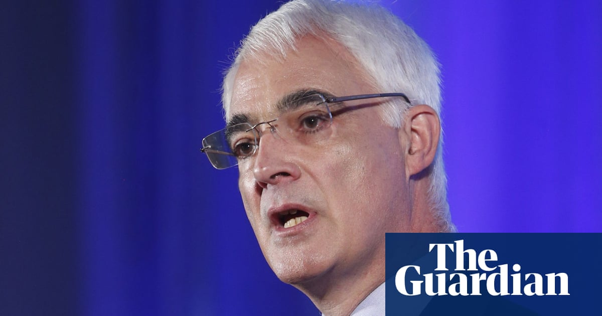 Alistair Darling turned down offer to chair trust to refurbish No 10