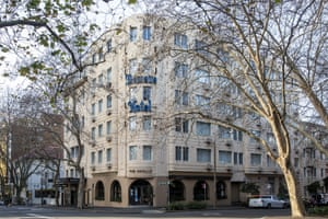 A general view of The Apollo Restaurant in Potts Point in Sydney.