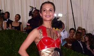 Alicia Vikander on the rise