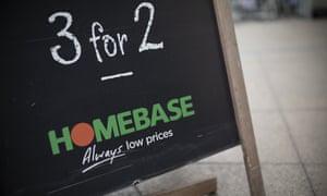 Homebase store in London