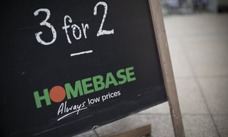 Homebase store in London