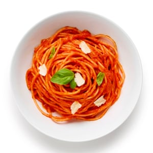The perfect pasta al pomodoro