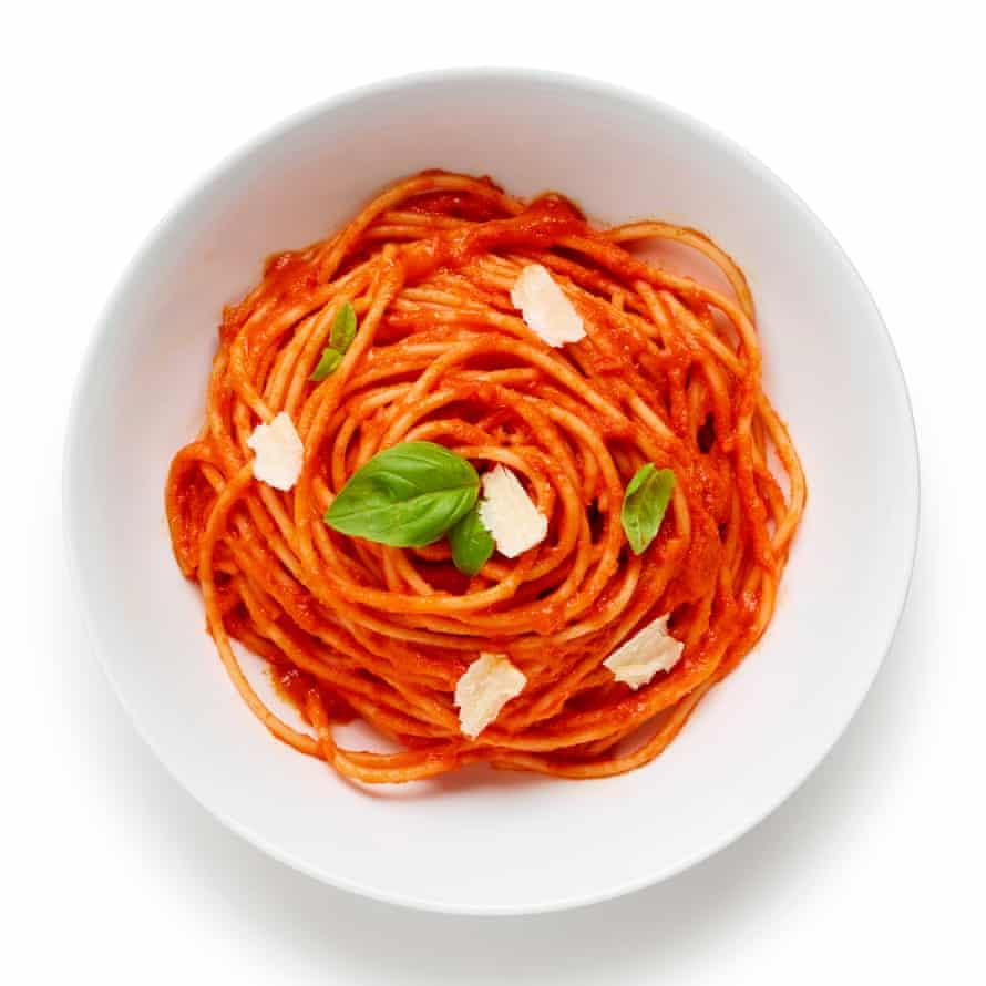 The perfect pasta al pomodoro