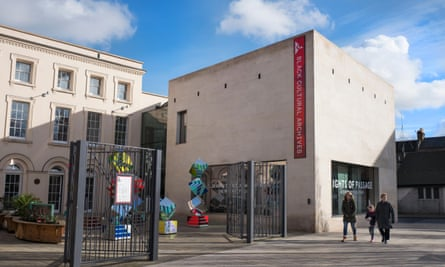 The Black Cultural Archives in Brixton, south London.