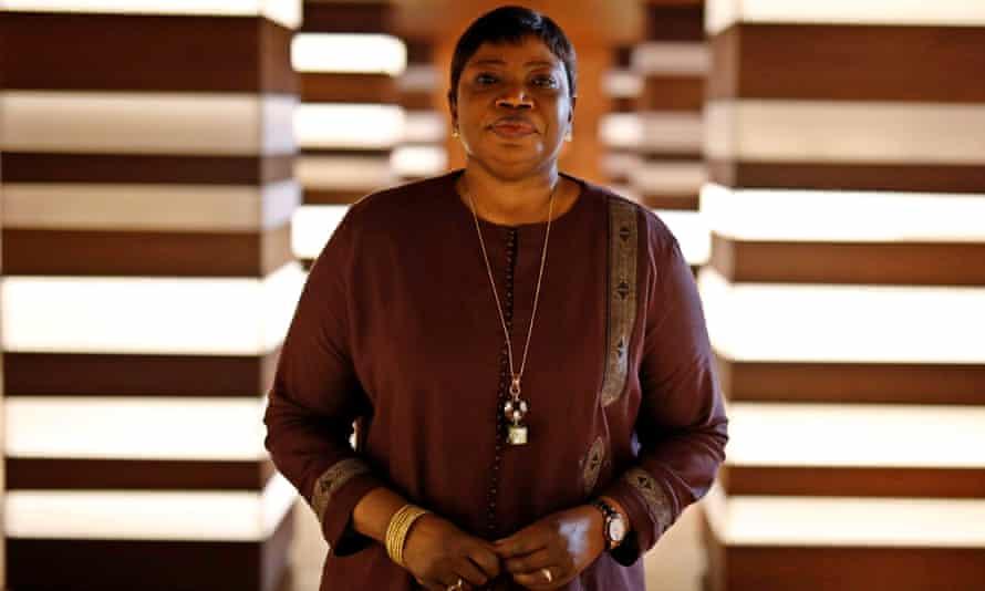 Fatou Bensouda at The Hague.