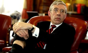 Jack Straw, pictured at the Foreign Office in London in 2003.