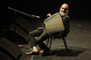 Warren Ellis of the Dirty Three