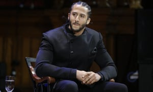 Colin Kaepernick led the San Francisco 49ers to the Super Bowl during his playing career
