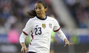 Christen Press joined Manchester United from Utah Royals in the summer.