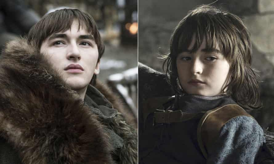 Living like a king ... Bran Stark through the ages.