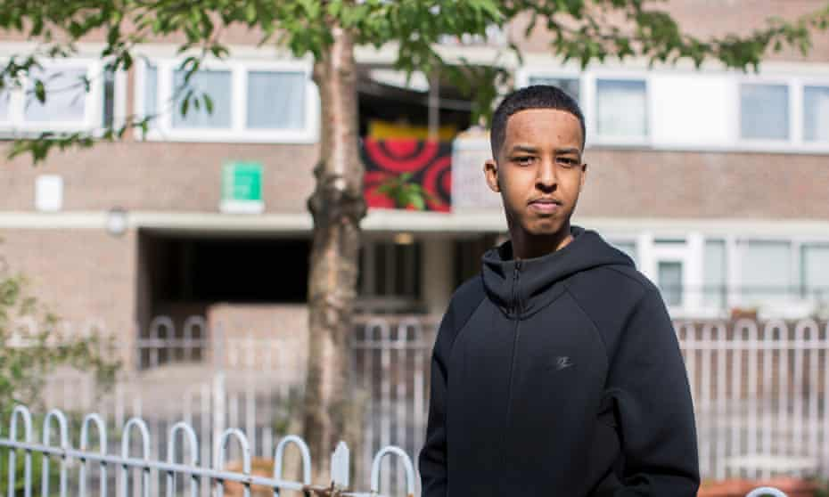 Abubakar Finiin … 'I was sending voice notes to my friends, screaming: We don't have to do A-levels!'
