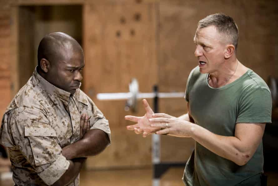David Oyelowo and Daniel Craig in Othello.
