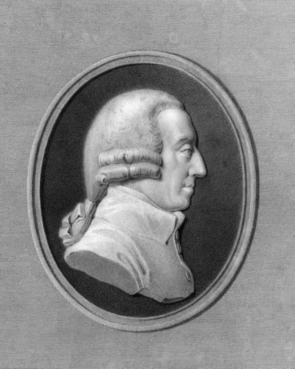 Adam Smith, the 18th-century Scottish philosopher and economist.