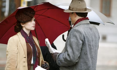 Hayley Atwell and Lucas Romer in the 2012 TV adaptation of Restless.