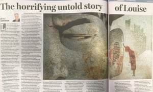 The original Louise article in the Sydney Morning Herald on 22 February 2016