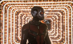 Lighten up … Ant-Man and the Wasp
