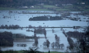 A major incident was declared following the floods.