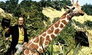 Rex Harrison in Doctor Dolittle (1967).