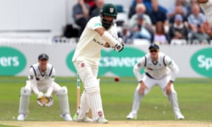 Worcestershire's Moeen Ali played the last of his 50 Tests for England in March against New Zealand.
