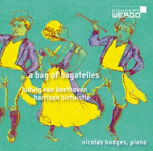 Nicolas Hodges: جلد آلبوم Bag of Bagatelles
