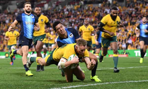 Australia 16 10 Argentina Rugby Championship 2019 As It Happened Sport The Guardian