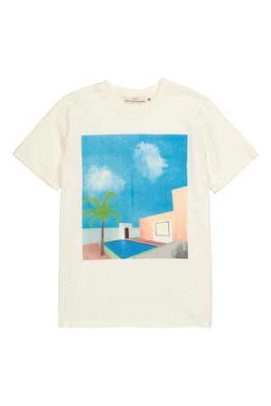 T-shirt with holiday print