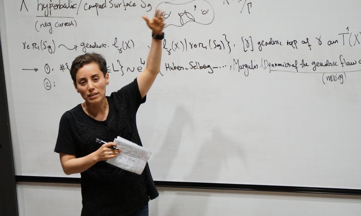 Maryam Mirzakhani obituary   Mathematics   The Guardian