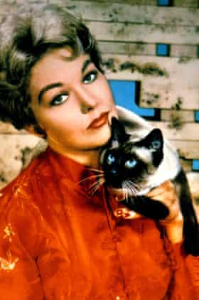 Pyewacket with Kim Novak in Bell, Book and Candle.