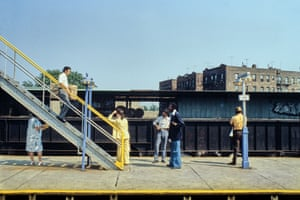Elevated Station 180 St, Queens, 1982