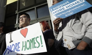 California lawmakers have voted down a bill that would have eased the state's growing housing crisis.