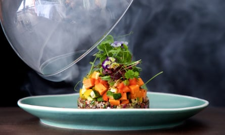 Vegetable timbale. Eight in Bath