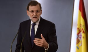 Mariano Rajoy said he was willing to hold talks with the new Catalan government