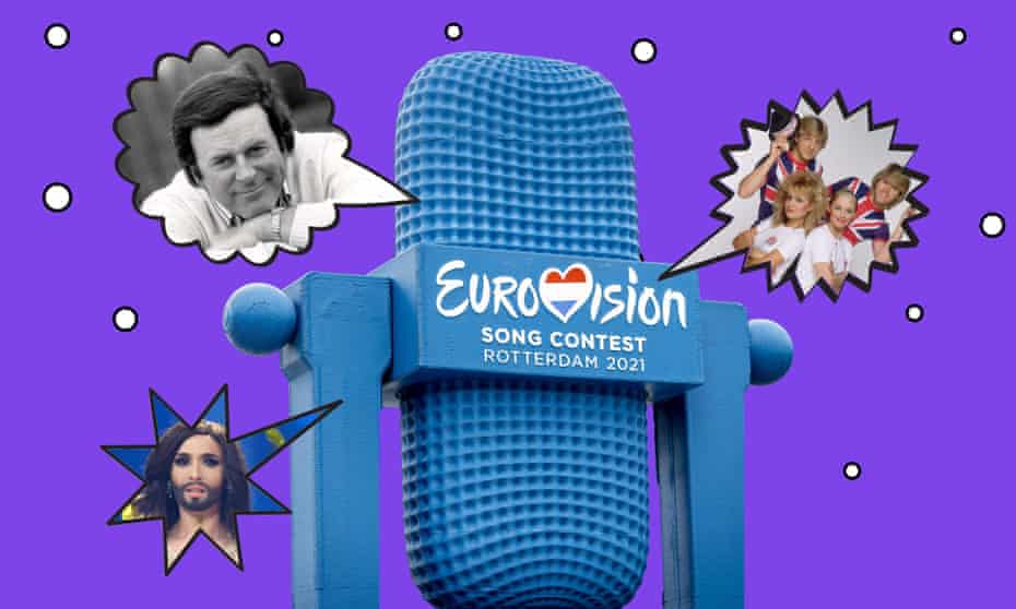 From Wogan to Conchita Wurst ... it could only be Eurovision.
