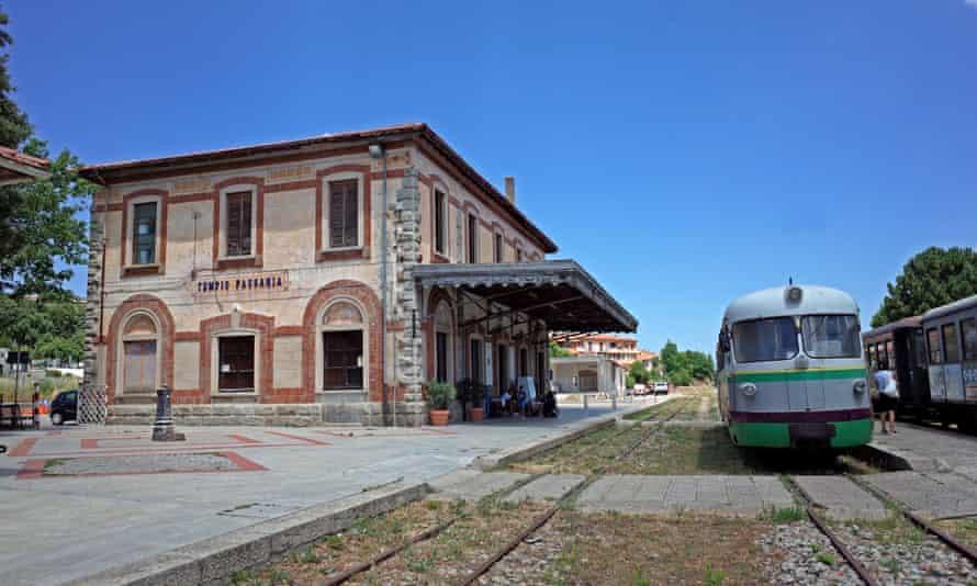 Tempio Pausania station.
