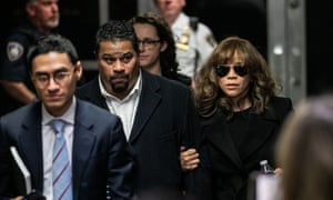 Rosie Perez at the courtroom in Manhattan on Friday.