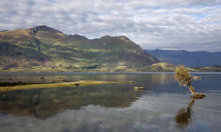 Lake Wanaka, in New Zealand's South Island