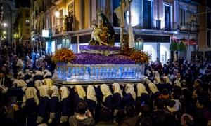 Semana santa, Granada.