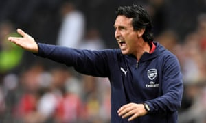 "Unai Emery wants Arsenal to ""take the responsibility to be protagonists""."