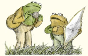Frog & Toad books, written and illustrated by Arnold Lobel.