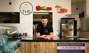 Liam Wright, owner of Homemade Deli in Middlesbrough.