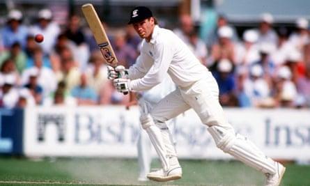 Dean Jones batting for Durham in 1992