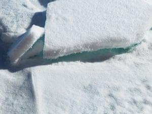 Broken Melody, Ice Pack, Arctic Ocean, 84 degrees N 2015